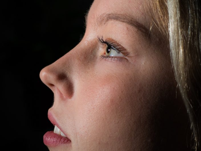 "Portret fotografie ""Romy"" - Bertus de Leeuw fotografie"